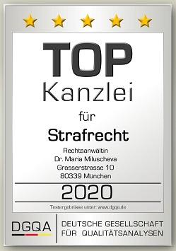 Siegel Miluscheva StrafR 2020 DGQA